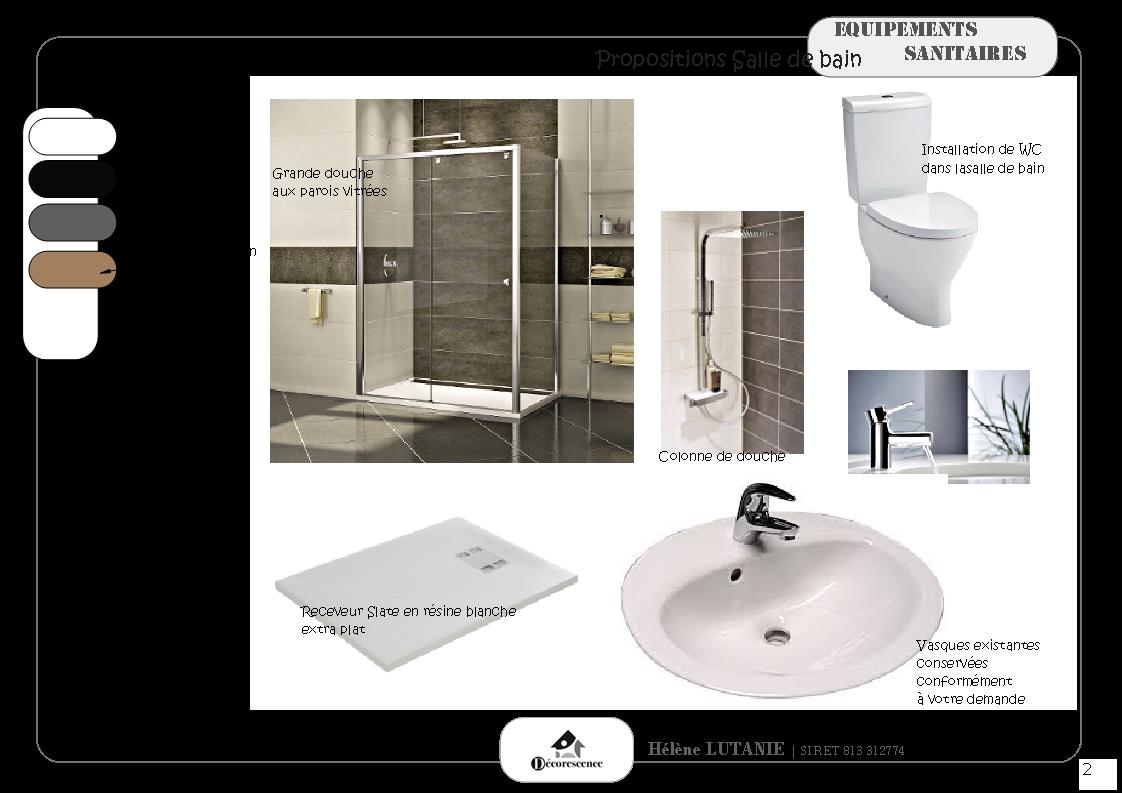 R novation compl te d 39 une salle de baind corescence for Cout d une salle de bain