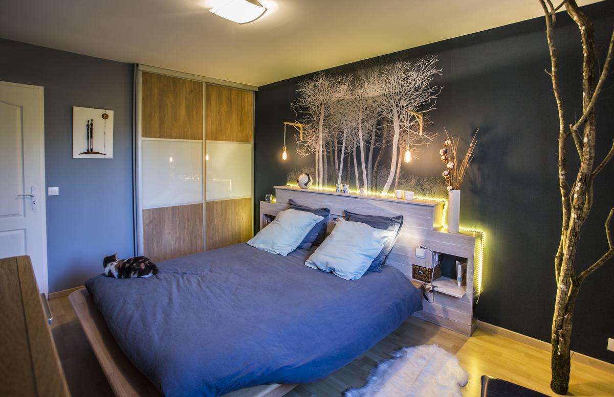 D coration d 39 une chambre for t scandinave d corescence d cor - Decoration d une chambre ...