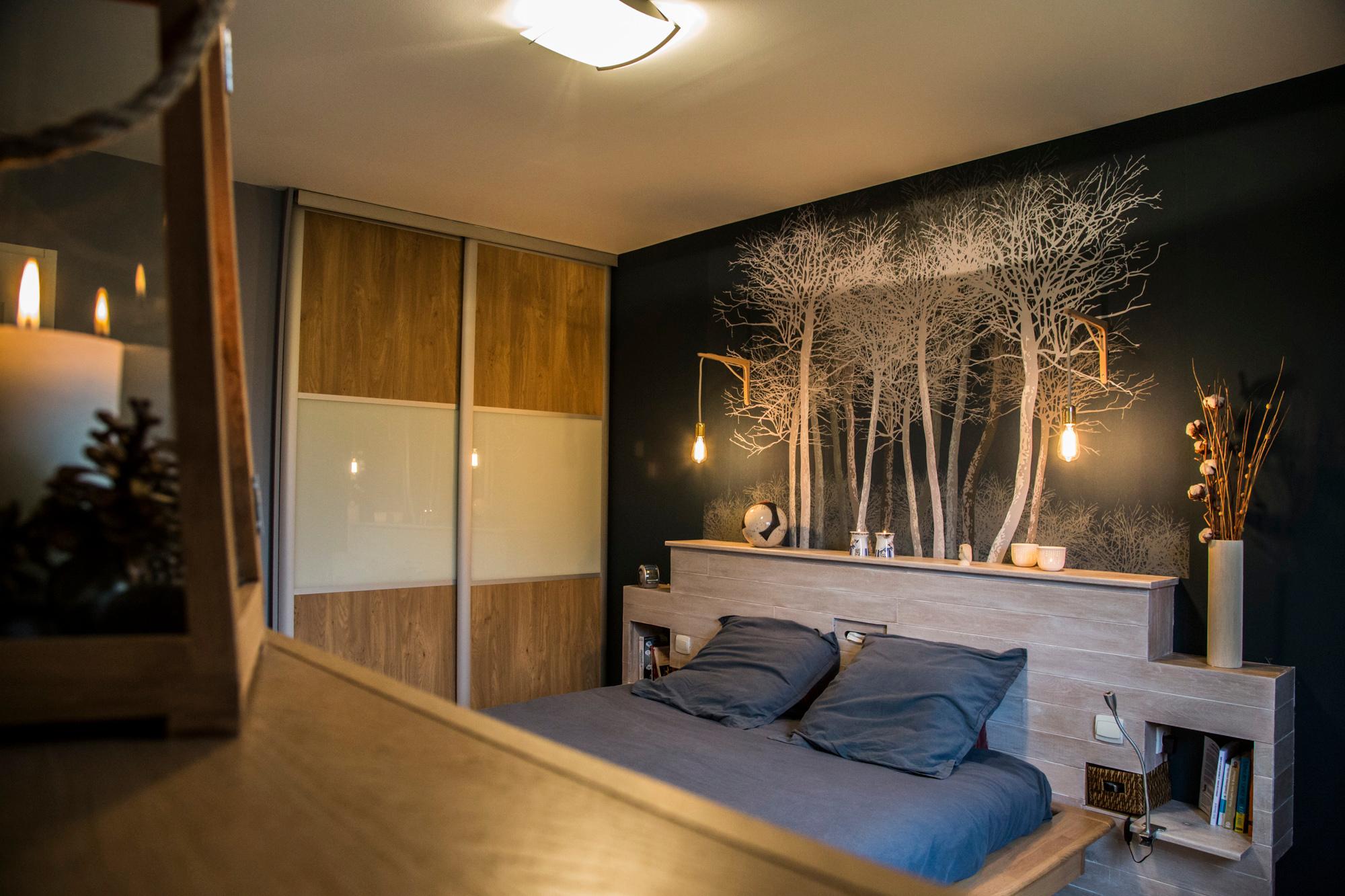 D coration chambre parentale nature - Deco chambre nature ...