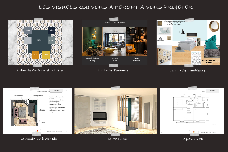 les outils de l' architecte decoratrice intérieur