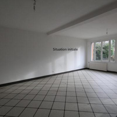 Rénovation Maison Bourges Sejour Avant 2