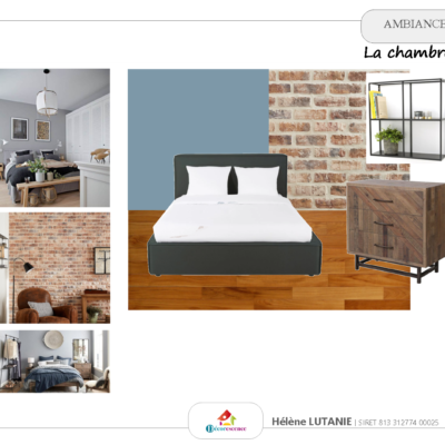 Ambiance Chambre Industrielle Chic